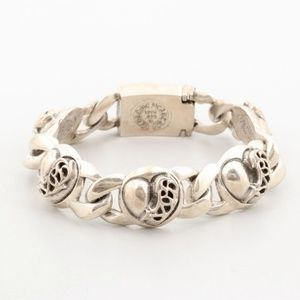 Chrome Hearts Sterling Silver Link Bracelet